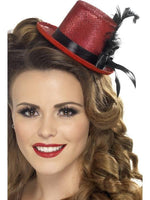 Mini Top Hat, Red