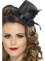 Mini Top Hat, Black