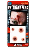 3D, FX Transfers, Capped Bullet Wound