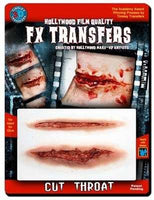 3D, FX Transfers, Cut Throat