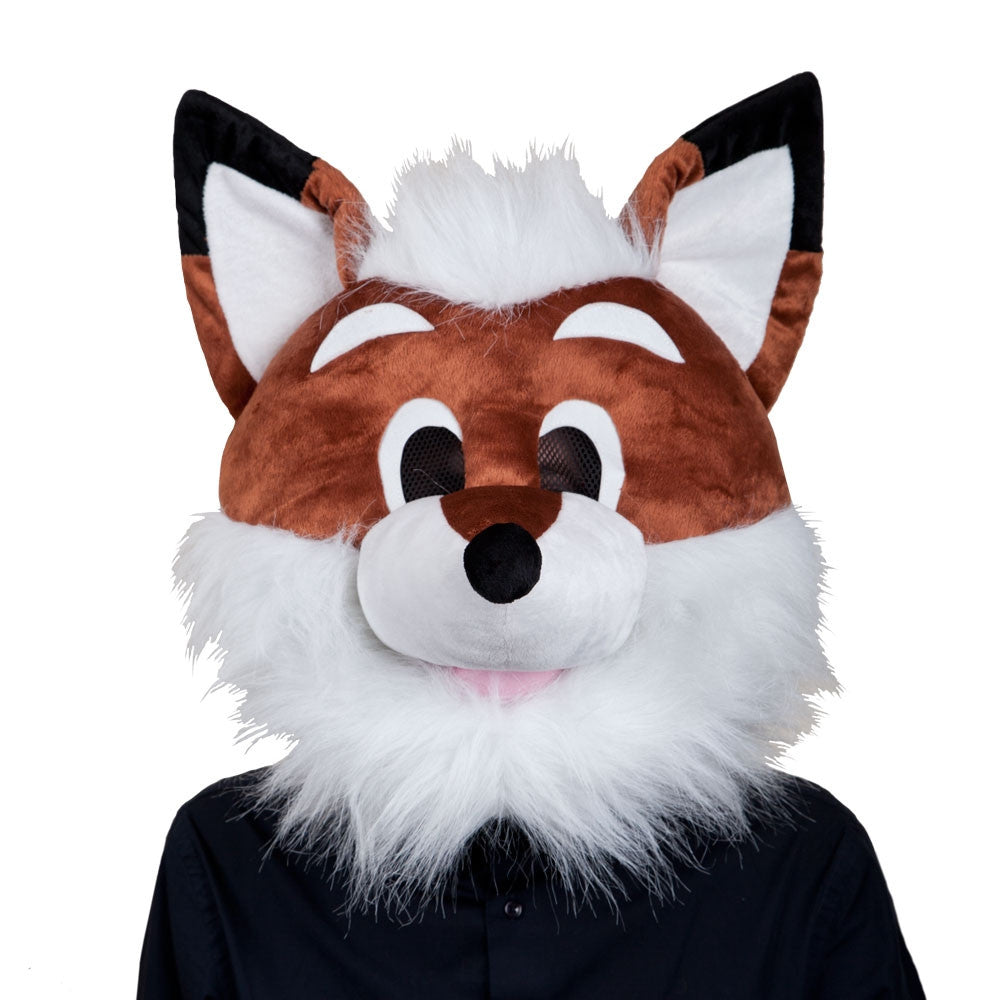 Plush Fox Mask