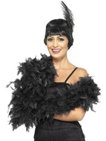 Boa Black, Deluxe, Feather