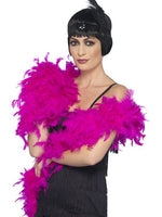 Boa Fuchsia, Deluxe, Feather
