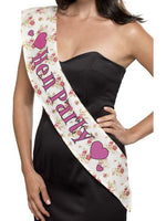 Deluxe Hen Party Sash