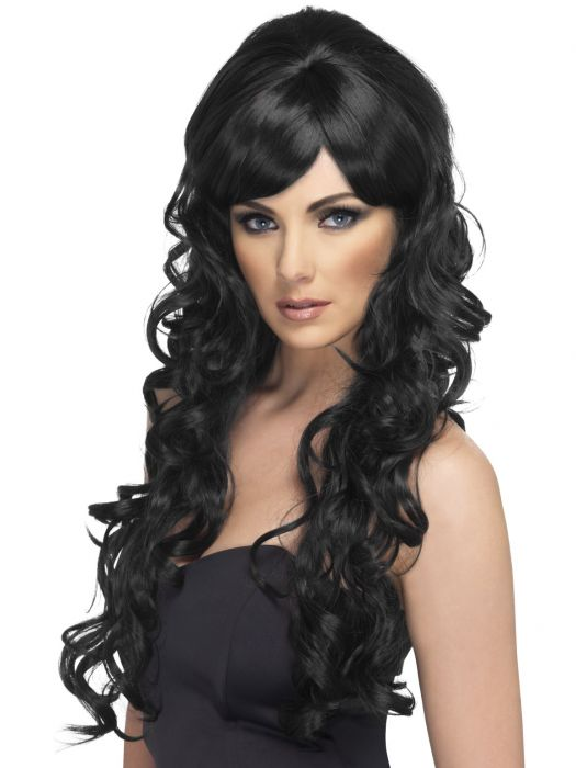 Pop Starlet Wig, Black
