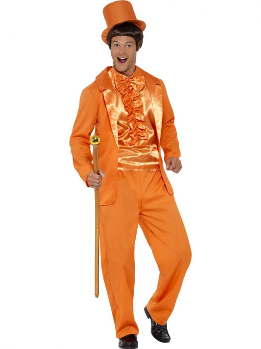 90's Stupid Tuxedo Costume, Orange