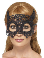 Filigree, Lace Devil Eyemask