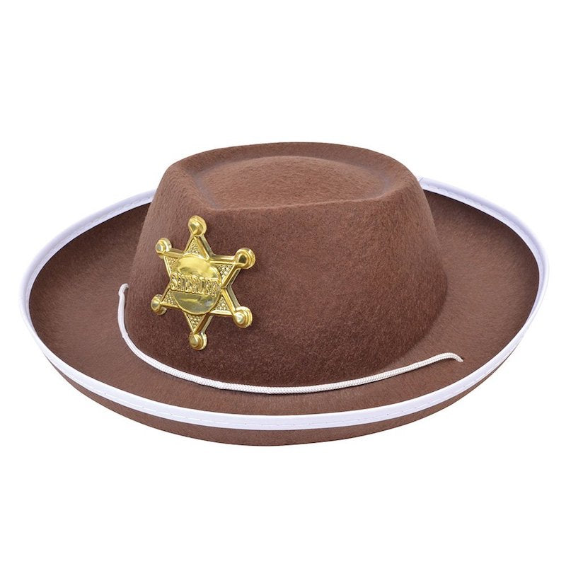 Cowboy Hat, Child, Brown