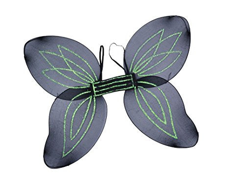 Adult Angel Wings, Black