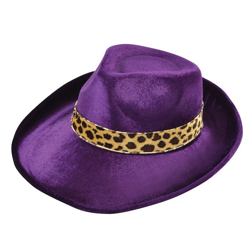 Fedora, Purple, Velvet