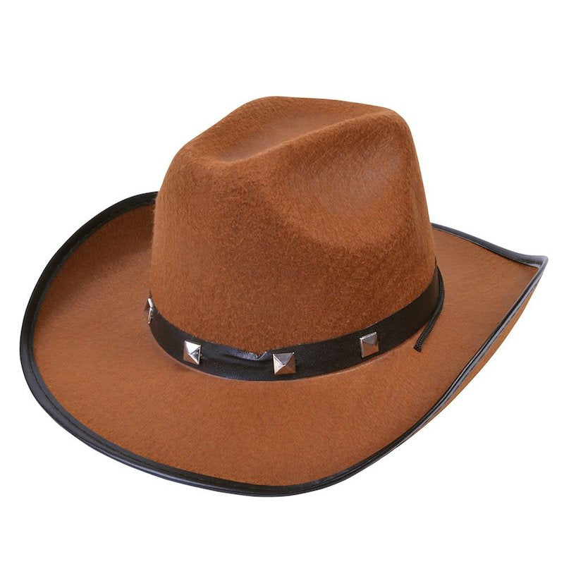 Cowboy Hat, Felt Brown