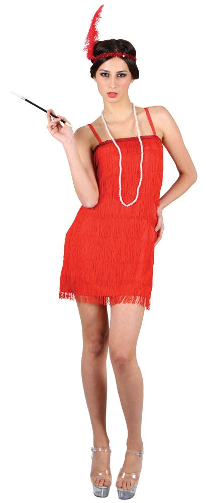 Showtime Flapper Red