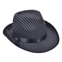 Gangster Hat, Pin Stripe