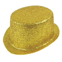Glitter Top Hat, Gold