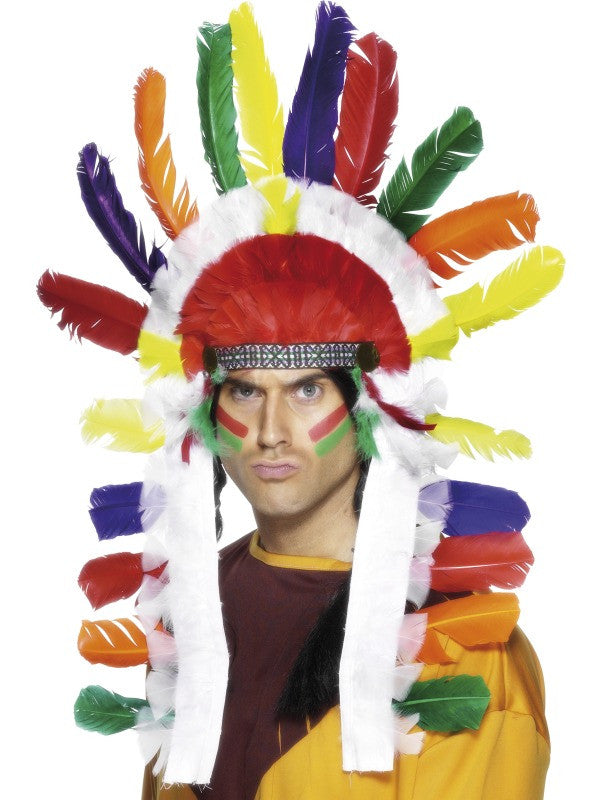Indian Headdress, Long