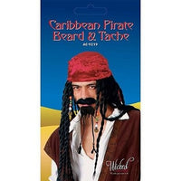 Carribbean Pirate Beard & Tash