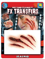 3D, FX Transfers, Slashed Flesh