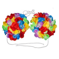 Hawaiian Flower Bra, Large