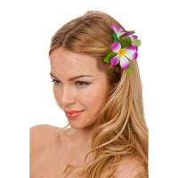 Hawaii Flower Clip, Purple