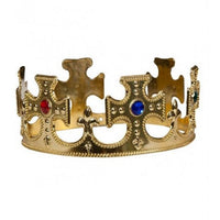 King & Queen Gold Crown