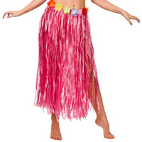 Hula Skirt Pink, Plus Size