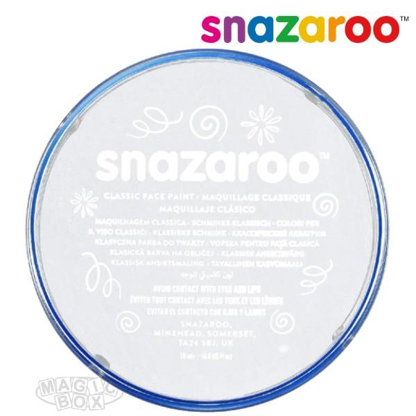 Snazaroo, White 18ml