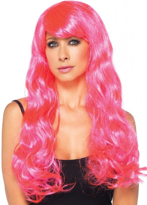 Leg Avenue, Starbright Wig, Neon Pink