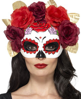 Day of The Dead, Rose Mask