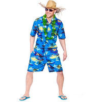 Hawaiian Party Guy, Blue Palm