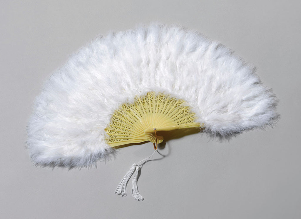 Fan, Feather White