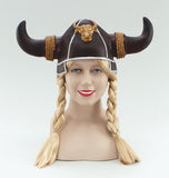 Viking Helmet w/Plaits