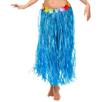 Hula Skirt Blue, Plus Size