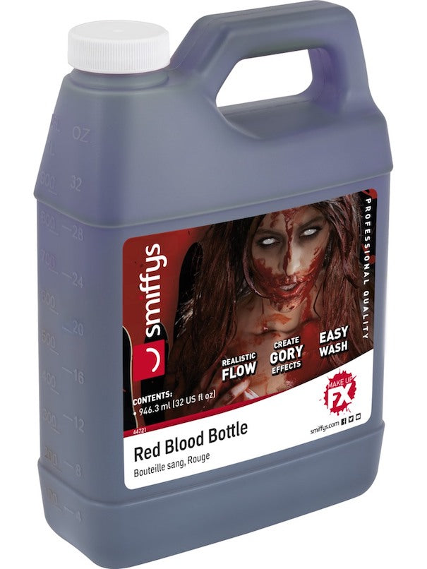 Blood, Red 1 Gallon