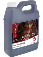 Blood, Red 1 Gallon Bottle