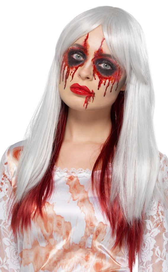 Ombre Blood Drip Wig