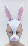 Rabbit Mask with Sound