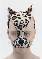 Leopard Mask with Sound