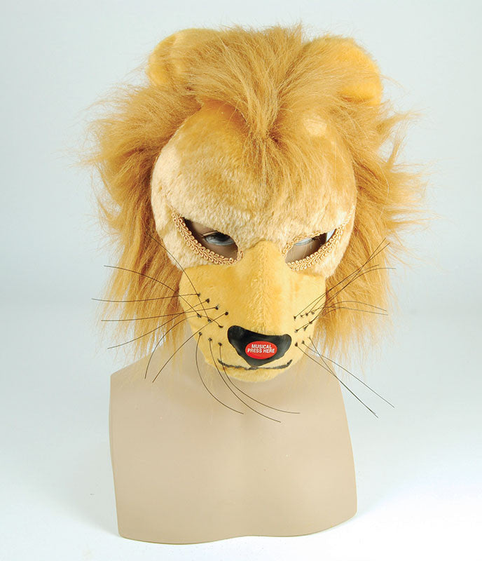 Lion Mask with Sound