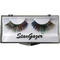 Eyelashes, Multi-coloured Foil