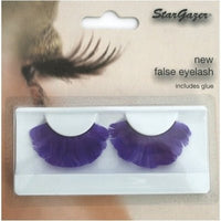 Eyelashes Feather, Purple