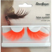 EYELASHES, NEON ORANGE