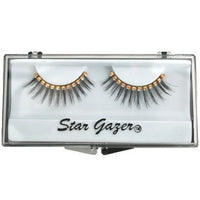 Eyelashes, Black with Diamante