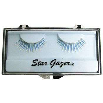 Eyelashes, UV Blue & White
