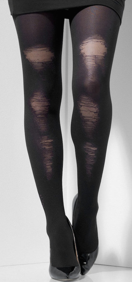 Tights, Distressed Look