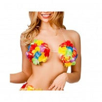 Hawaiian Flower Bra, Small