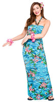 Hawaii Maxi Dress, Orchid Ocean
