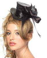 Leg Ave, Satin Top Hat, Black