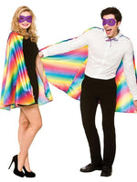 Super Hero Cape With Mask, Rainbow