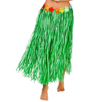 Hula Skirt Green, Plus Size