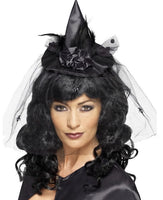 Mini Black Witch Hat